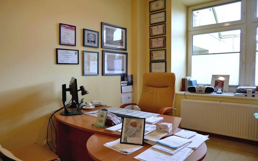 Wnętrze gabinetu